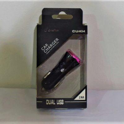 ΦΟΡΤΙΣΤΗΣ ΚΙΝΗΤΟΥ ΓΙΑ ΑΥΤΟΚΙΝΗΤΟ 2 ΘΗΡΕΣ USB OnePlus