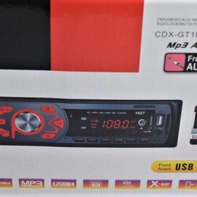 CAR MP3 PLAYER CDX-GT1027BT