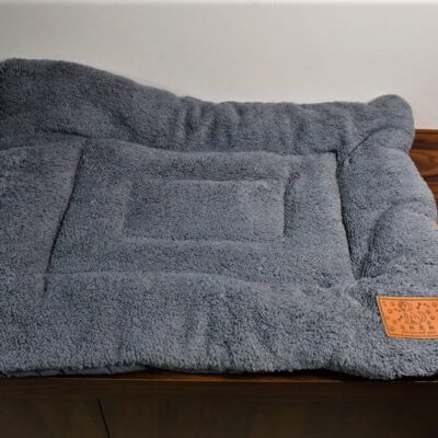 PET BED 60x40x3cm Μπλε σκούρο-Γκρι