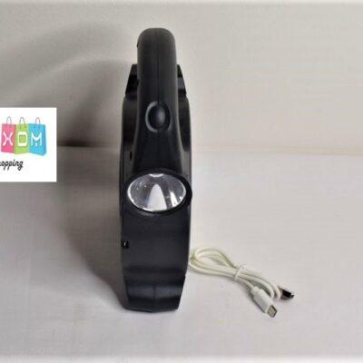 ΔΙΠΛΟΣ ΦΑΚΟΣ LED ΠΟΛΛΑΠΛΩΝ ΧΡΗΣΕΩΝ Δ12cm ΜΕ USB ΚΑΙ ΜΕ ΦΩΣ ΕΚΤΑΚΤΗΣ ΑΝΑΓΚΗΣ