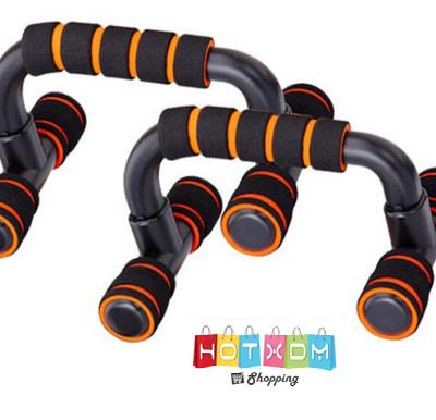 ΣΤΗΡΙΓΜΑ ΓΙΑ PUSH-UPS Μαύρο-Πορτοκαλί – 2 ΤΕΜ.