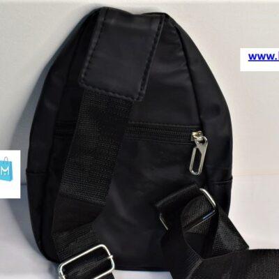 """ΤΣΑΝΤΑΚΙ ΜΕΣΗΣ """"Belt Bag"""" ΑΔΙΑΒΡΟΧΟ ΜΕ 3 ΘΗΚΕΣ – Μαύρο"""