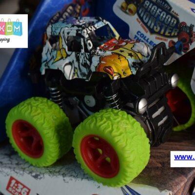 Αυτοκίνητο Big Foot Monster 4×4 με Friction Power – Πράσινο