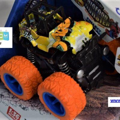 Αυτοκίνητο Big Foot Monster 4×4 με Friction Power – Πορτοκαλί