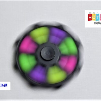 Spinner Pop it (2σε1) – Μαύρο