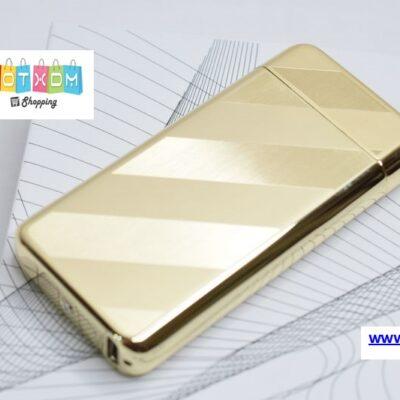 Αναπτήρας με αντίσταση επαναφορτιζόμενος με USB – Χρυσό
