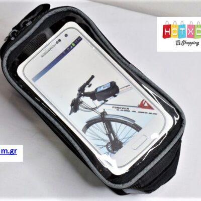 Τσαντάκι ποδηλάτου με διάφανη θήκη για κινητό