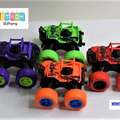 Αυτοκίνητο Big Foot Monster 4×4 με Friction Power – Κόκκινο