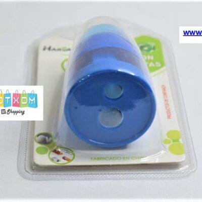 Ξύστρα και γόμα 2σε1 – Μπλε