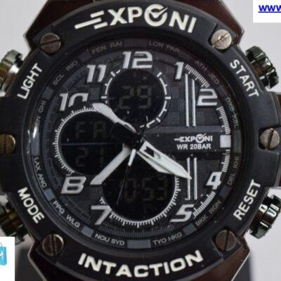 Ρολόι Exponi Μαύρο