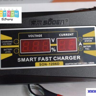 Φορτιστής μπαταρίας αυτοκινήτου Smart Fast Charger SON-1206D