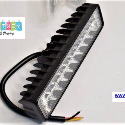 Προβολέας LED με φωτισμό λευκό και κόκκινο