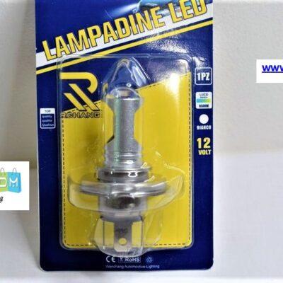 Λάμπα LED H4 Λευκός φωτισμός 12V