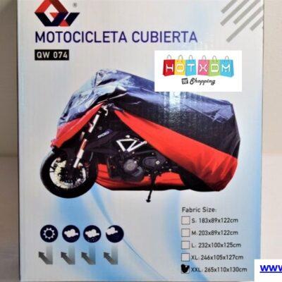 Κουκούλα μοτοσυκλέτας XXL 2,65×1,30m