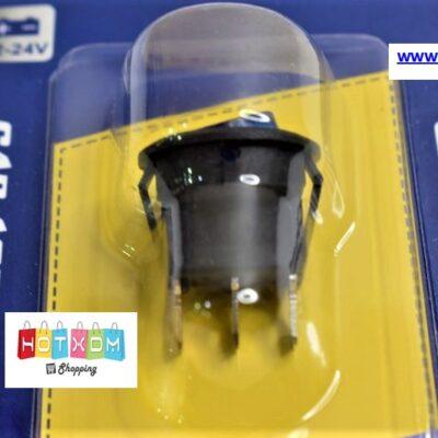 Διακόπτης on/off φωτιζόμενος στρογγυλός 12-24V