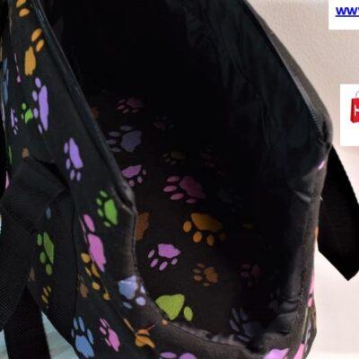 """Τσάντα μεταφοράς κατοικίδιου 48cm """"Πατούσες"""""""