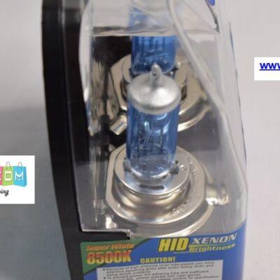 Λάμπες H4 (2 τεμ.) 60W Λευκός φωτισμός 8500K