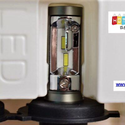 Λάμπες LED H4 (2 τεμ.) Λευκός φωτισμός 6500K