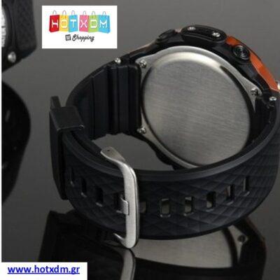 Ρολόι Sport Smart Watch / Μαύρο-Κόκκινο
