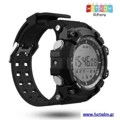 Ρολόι Sport Smart Watch / Μαύρο