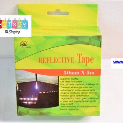 Reflective Tape – Αυτοκόλλητη ταινία αντανάκλασης 5m / Κίτρινο-Μαύρο