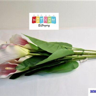 Τεχνητό μπουκέτο λουλουδιών 64cm – Ροζ Calla
